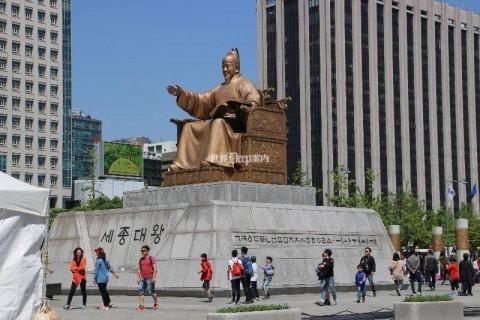 韓国 ソウル 光化門広場